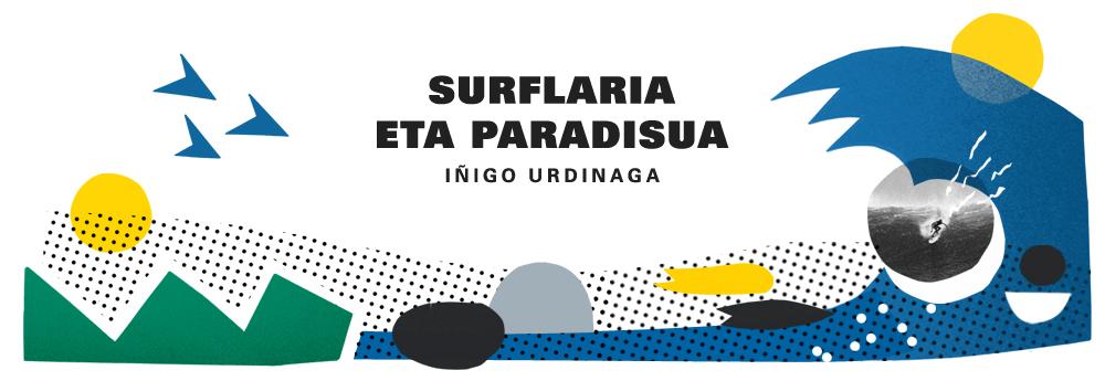 Surflaria eta paradisua Iñigo Urdinagaren liburua